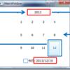 XamCalendar: 日付表示形式のカスタマイズ(和暦表示も可能!?