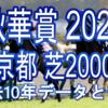 【秋華賞 2020】過去10年データと予想