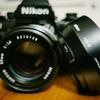 Nikon Ai-s 50mm f1.4に金属フード装着!!