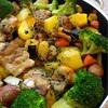 24日はハンブルグ日本人学校・補習校合同バザーです❗️〜今日のお夕食、豚ばら肉と野菜のオーブン焼き