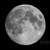 真夏の望月(月齢13.494)
