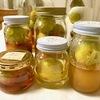 蜂蜜で梅シロップ作り