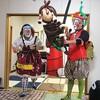 ベビー&ママたちのためにバルーンアートショー開催