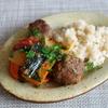 33冊目『食べ方帖』から4回めはクミン風味のミートボールと野菜の煮込み