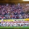 勇敢な桜のジャージの男達が誇り高く散った!
