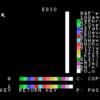ドット絵 ツール MSX1 PCG TOOL (SCREEN1.5  多色刷り)  の EDIO を作成(WebMSX エミュレータで実行)しました