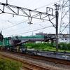 鉄道クレーン車甲種輸送の撮影