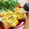 ふわとろスクランブルエッグで作るハムエッグマヨトーストの作り方【朝ごはんレシピ】