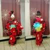女児浴衣着付け☆幼稚園の夕涼み会&足立区花火大会のお嬢様です