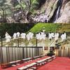 平成から新元号「令和」に向けて天光寺のリフレッシュ滝修行!