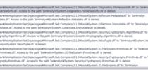 Visual Studio 2017:ビルド中にbin\roslynファイルがロックされる問題
