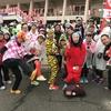 奈良マラソン2017、15kmと35kmで応援していたガチャピンとムックが見た光景!!