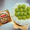 シャインマスカットのショートケーキと音楽モチーフのアイシングクッキーのご注文をいただきました!
