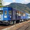 2020年10月に徳島線にデビュー!「藍よしのがわトロッコ」に乗りながら駅弁を食す。