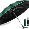 豪雨や台風でも安心な特大12本骨折り畳み傘