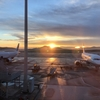 2018イタリア・ギリシャ旅行【15】〜アテネ→フランクフルト(エーゲ航空ビジネスクラス)〜