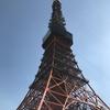 2月28日(木)曇り空の東京タワー