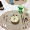 【レシピ】結婚2周年ディナー・ビシソワーズスープ、サラダ、ラムステーキ