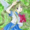 「初夏の天使」オリジナルアナログイラスト:セーラー服天使完成