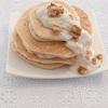 強力粉で作るモチモチのバナナヨーグルトパンケーキがヘルシーで美味しい!