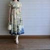 「インド綿CUAワンピース ¥2,530!」のプチプラ着回しコーディネート例