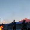 続1月9日の富士山・どんど焼き