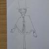藁人形デコイを描いてみた