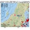 2016年12月15日 19時18分 新潟県下越地方でM2.9の地震