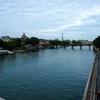 フランス旅「パリのシテ島をぶらぶら歩く、エッフェル塔が見えた!」