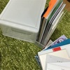 書類の整理とベビー服を入れるスペースの確保