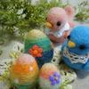 カラフルな卵たち