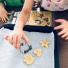 子供と作った米粉&小麦粉クッキー ♪ 親子クッキングは大変!だけど何事も経験です✨