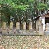 貯水池のいっかくに祀られる六地蔵 福岡県北九州市若松区頓田