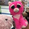 トイザらスでピンクの猫ちゃんに遭遇♪