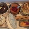 アステリスクの栗ケーキと複雑味ケーキ