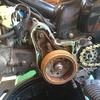 スーパーカブHA02 スターター修理