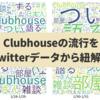 話題沸騰?Clubhouseの流行をTwitterデータから紐解く