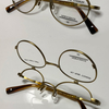 ボストン型の複式跳ね上げメガネ