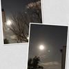 なにげに写した月は今年最初の満月(ウルフムーン)でした