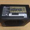 PCの電源ユニット交換 > KRPW-SS600W/85+(80PLUS BRONZE)からSS-650KM3(80PLUS GOLD)へ