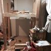 子供の二階建て基地DIY  解体の図