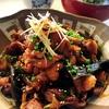 鶏皮と砂肝の醤油煮