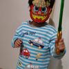 節分に4歳息子と豆まきをして、恵方巻きを食べました。