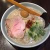 魚露温麺 凪@西新宿の煮玉子入り温麺