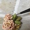 つまみ細工  剣つまみの葉っぱの作り方🌱