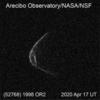 小惑星「1998 OR2」、新しい写真、まるでマスク!!