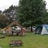 出会いの森ACでテントキャンプとNewアイテム「囲炉裏テーブル」
