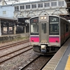 羽越本線の普通列車に乗車中に異変が!これって快速なの?