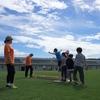 10/06(土) スラックライン体験会 in 西目サッカー場