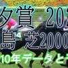 【七夕賞 2020】過去10年データと予想